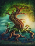 Tree of life stock illustration