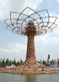 Tree of Life. Landmark at the 2015 Expo in Milan, Italy Stock Image