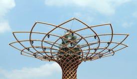 Tree of Life. Landmark top at the 2015 Expo in Milan, Italy Royalty Free Stock Photo