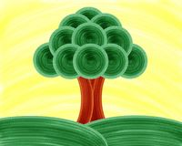Tree Of Life Painting Royalty Free Stock Photos