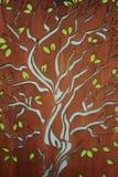 Tree of Life. Screen screened life tree hope background hope fruit nature abstract metaphor window Stock Photos