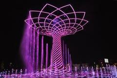 Tree of life show at EXPO Royalty Free Stock Photo