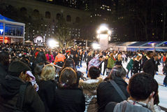 Tree Lighting, Bryant Park Stock Images