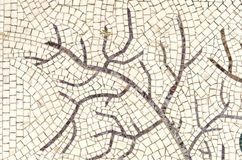 Tree-like mosaic Stock Image