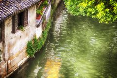 Tongli water town scenic area China royalty free stock image