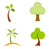 Tree logo Royalty Free Stock Image