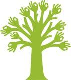 Tree logo stock illustration