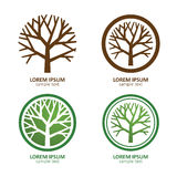 Tree logo Stock Photography