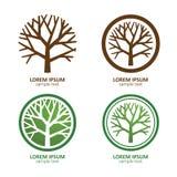 Tree logo Stock Photography