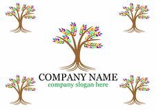 Tree logo Stock Image