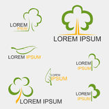 Tree Logo. For organization or business - vector Royalty Free Stock Image