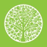 Tree logo template. Stock Photos