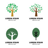 Tree logo Royalty Free Stock Image