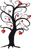 Tree love stock illustration