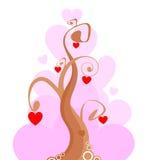 Tree of love Stock Photos