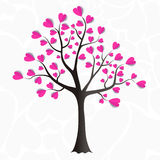 Tree of love Stock Images