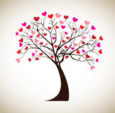 Tree love Stock Images