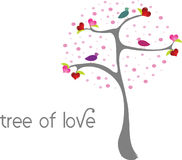 Tree of Love Stock Photos