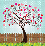 Tree love Royalty Free Stock Photos