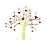 Tree love Royalty Free Stock Images