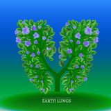 Tree lungs Royalty Free Stock Photography
