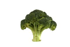 Tree made from broccoli Stock Photography