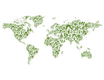 Tree map Stock Photography