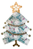 Tree from money Stock Images