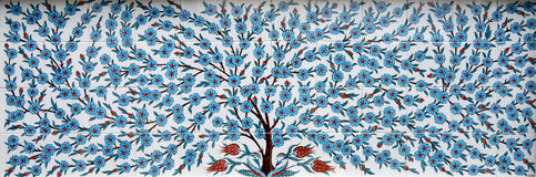 Tree of mosaic tiles Royalty Free Stock Images