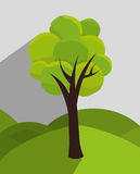 Tree and nature ecology Stock Image