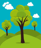 Tree and nature ecology Royalty Free Stock Images