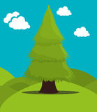 Tree and nature ecology Royalty Free Stock Photography