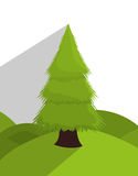 Tree and nature ecology Royalty Free Stock Image
