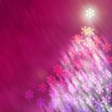Tree New Year and Christmas Backgrounds Royalty Free Stock Images