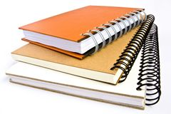 Tree Note book Stock Image