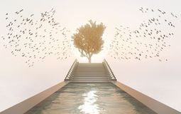 Free Tree Of Life - Garden Of Heaven Spiritual Concept Royalty Free Stock Photography - 139208407