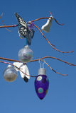 Tree ornaments beckoning spring and renewal stock photography