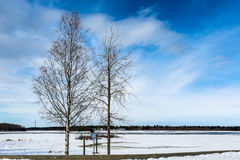 View to city of Oulu , Finland Royalty Free Stock Photo