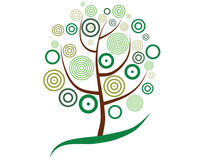 Tree pattern stock illustration