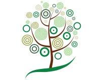 Tree pattern Royalty Free Stock Image