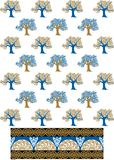 Tree pattern image Royalty Free Stock Image