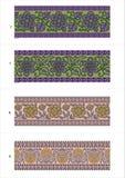 Tree pattern imaze Stock Images