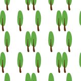 Tree-patterned backgrounds that are vivid and natural. stock illustration