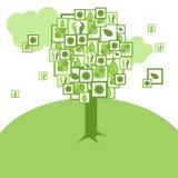 Tree of peace Royalty Free Stock Photography