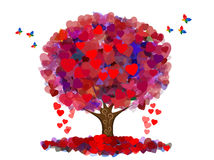Tree of peace and love Royalty Free Stock Images