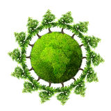 Tree planet Royalty Free Stock Photography