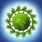 Tree planet Royalty Free Stock Images