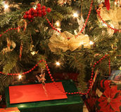 Tree and Presents Stock Photo