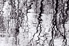 Tree Reflections In Pool Of Water stock photos