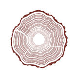 Tree rings background Royalty Free Stock Images